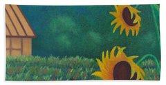 Sergi's Sunflowers Bath Towel