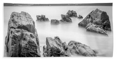 Hand Towel featuring the photograph Seselle Beach Galicia Spain by Pablo Avanzini