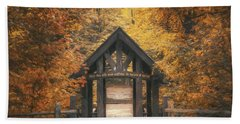 Seven Bridges Trail Head Hand Towel by Scott Norris