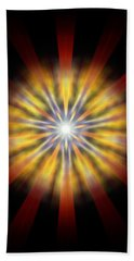 Seven Sistars Of Light Bath Towel by Derek Gedney