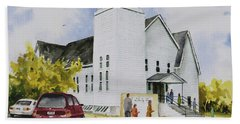 Seventh Day Adventist Church Bath Towel by Sam Sidders