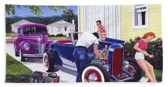 Shade Tree Mechanic Bath Towel