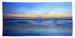 Rocks In Surf Canvas 30x40 Print On Sale Carlsbad Hand Towel