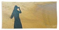 Shadow And Sand Raw Hand Towel
