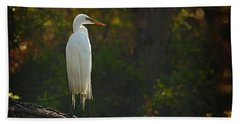 Shadow Heron Bath Towel