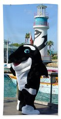 Shamu Bath Towel by David Nicholls