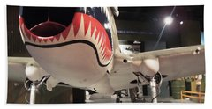 Shark Aircraft Hand Towel by Aaron Martens
