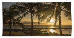 Sharks Cove Sunset 2 - Oahu Hawaii Hand Towel