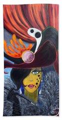 She Devil..   Hand Towel by Jolanta Anna Karolska