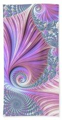 Hand Towel featuring the digital art She Shell by Susan Maxwell Schmidt