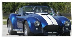 Shelby Cobra Hand Towel by Christiane Schulze Art And Photography