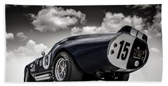 Bath Towel featuring the digital art Shelby Daytona by Douglas Pittman