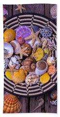 Shell Collecting Hand Towel