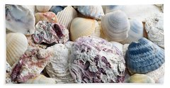 Hand Towel featuring the photograph Shells From The Sea by Andee Design