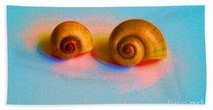 Shells In Colors Bath Towel