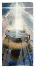 Second Corinthians Four Verse Seven Bath Towel