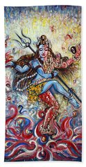 Shiv Shakti Bath Towel by Harsh Malik
