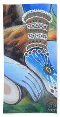 Shiva - Durga Hand Towel
