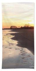 Shoreline Sunset Hand Towel