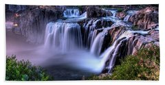 Shoshone Falls Bath Towel by David Andersen