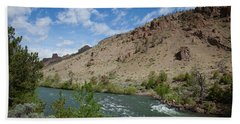 Shoshone River Bath Towel