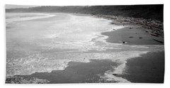 Winter At Wickaninnish Beach Hand Towel by Roxy Hurtubise