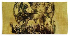 Simmental Bull 12 Hand Towel
