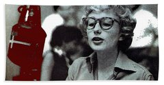 Singer Pianist Blossom Dearie  No Known Date Hand Towel