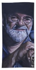 Sir Terry Pratchett Bath Towel