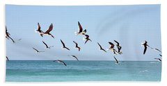 Skimmers And Swimmers Bath Towel