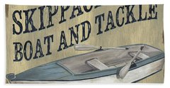 Skippack Boat And Tackle Bath Towel