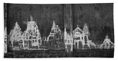 Hand Towel featuring the photograph Skc 0003 Temple Complex by Sunil Kapadia