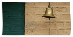 Bath Towel featuring the photograph Skc 0005 A Doorbell by Sunil Kapadia