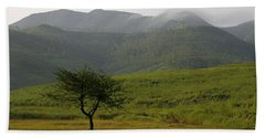 Hand Towel featuring the photograph Skc 0053 A Solitary Tree by Sunil Kapadia