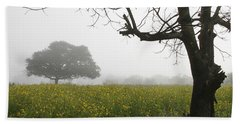Hand Towel featuring the photograph Skc 0060 Framed Tree by Sunil Kapadia