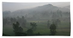 Hand Towel featuring the photograph Skc 0079 A Winter Morning by Sunil Kapadia
