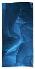 Bath Towel featuring the photograph Skc 0247 A Mystery In Blue by Sunil Kapadia