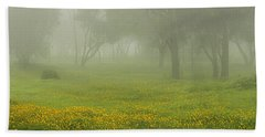 Bath Towel featuring the photograph Skc 0835 Romance In The Meadows by Sunil Kapadia