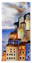Sky At Dusk  Bath Towel by Carlin Blahnik