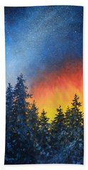 Sky Fire Hand Towel