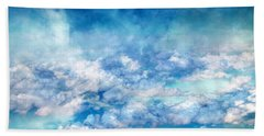 Sky Moods - A View From Above Bath Towel by Glenn McCarthy
