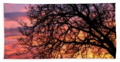 Sky On Fire Hand Towel