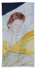 Sleeping Beauty Hand Towel