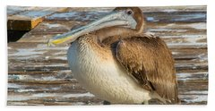 Sleepytime Pelican II Hand Towel