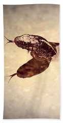 Bath Towel featuring the photograph Slithering Reflections by Melanie Lankford Photography