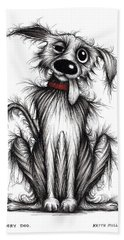 Slobbery Dog Hand Towel