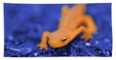 Sly Salamander Hand Towel by Luke Moore