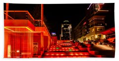 Smale Park At Night Hand Towel
