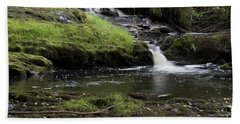 Small Falls On West Beaver Creek Hand Towel by Kathy McClure