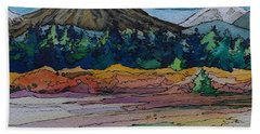 Small Sunriver Scene Hand Towel